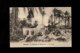 Cartolina Posta Militare Corpo Di Spedizione In Tripolitania - Misurata Il Marabutto Di Zurr Presoa Viva Forza - Militari