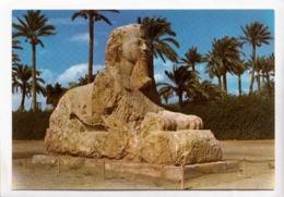 Egypt, Giza, The Sphinx Of Sakkara, Unused Postcard [23586] - Gizeh