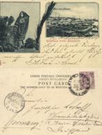 Straits Settlements, SINGAPORE, Native Girl, Malay Craft Harbour (1904) Postcard - Singapore
