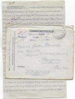 1917 - PRISONNIERS De GUERRE - LETTRE Du CAMP D'OFFICIERS - OFLAG  - De WIESA B. ANNABERG - Guerre De 1914-18