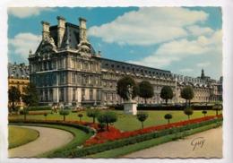 PARIS, Les Jardins Du Louvre Et Le Pavillon De Marsan, 1970 Used Postcard [23589] - Louvre