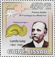 Guinea Bissau Nobel Prize Medicine Camillo Golgi Italy 1v Stamp MNH Michel:4244 - Famous People