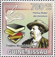 Guinea Bissau Nobel Prize Literature Frederic Mistral 1v Stamp MNH Michel:4251 - Famous People