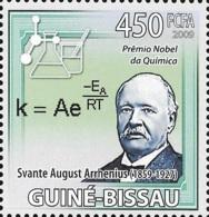 Guinea Bissau Nobel Prize Chemistry Svante Arrhenius Sweden 1v Stamp MNH Michel:4232 - Famous People