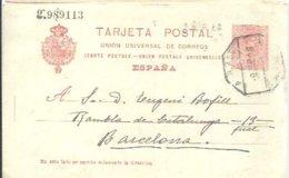E.P 1919  MATASELLOS AMBULANTE - Enteros Postales