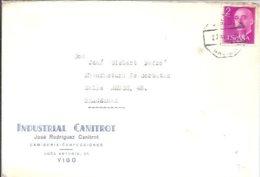 CARTA   MATASELLOS AMBULANTE  GALICIA - 1931-Hoy: 2ª República - ... Juan Carlos I