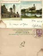 Straits, Malay Malaysia, KUALA LUMPUR, Sultans Palace (1905) Litho Postcard - Malaysia