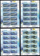 Thailand 2019 - FS Preserved Wild Animals / WWF / Animal / Fauna / Whale / Turtle / Shark / Marine Life - Thailand