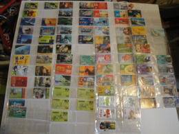 128 Phonecards From Brasil - All Different - Brasile