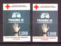 Bosnia BiH 2019 RED CROSS TBC (2) MNH - Bosnia And Herzegovina