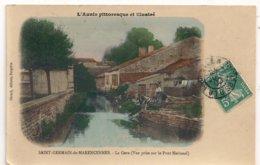 Cpa 17 St Germain De  Marencennes  La Gere - Altri Comuni