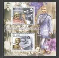 BC925 2011 S. TOME E PRINCIPE FAMOUS PEOPLE MAHATMA GANDHI 1BL MNH - Mahatma Gandhi