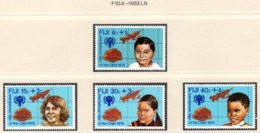 YEAR INTERN. OF CHILD - FIJI - Mi. Nr. 416/419 - NH - (6532-35.) - Fiji (1970-...)