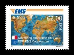 Malta 2019 Mih. 2081 EMS Postal Service MNH ** - Malte