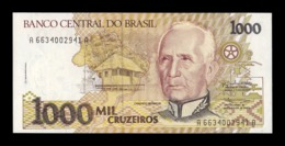 Brasil Brazil 1000 Cruzeiros Cándido Rondón 1991 Pick 231a SC UNC - Brasil