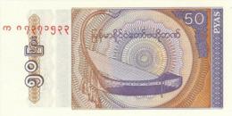 Myanmar 50 Pyas 1994 Pick 68 UNC - Myanmar
