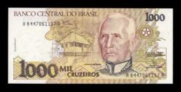 Brasil Brazil 1000 Cruzeiros Cándido Rondón 1991 Pick 231b SC UNC - Brasilien