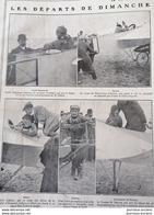 1911 AVIATION - PARIS = MADRID - GARROS VÉDRINES GILBERT BEAUMONT - BLOIS ANGOULÊME - Periódicos