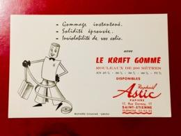 BUVARD  LE  KRAFT  GOMMÉ - Stationeries (flat Articles)