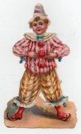 CHROMO Découpis Enfant Clown Cirque - Découpis