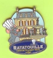 Gros Pin's BD Disney Ratatouille  L'aventure Totalement Toquée De Rémy - 7II21 - Disney