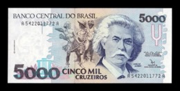 Brasil Brazil 5000 Cruzeiros 1992 Pick 232b SC UNC - Brasil