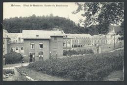 1.1 // CPA - MALONNE - Namur - Café - Hôtel St Berthuin - Entrée Du Pensionnat  // - Namur