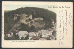 1.1 // CPA - Bords De La Meuse - Ruines Du Château De HIERGES VAUCELLES - Doische - Nels Couleur Série  7 N° 61  // - Doische