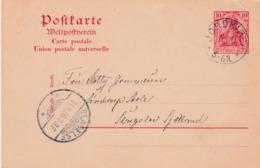 Empire. Nord Slesvig. JORDKIRCH 1906, Send To Denmark, Slagelse - Deutschland