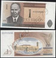 Estonia P 69 - 1 Kroon 1992 - UNC - Estland