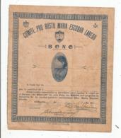 "FRANC MACONNERIE CUBA DIPLOME DU COMITE PRO RUSTO MARIA ESCOBAR LAREDO ""BONO"" (FEMMES) ANNEES 40 - Documents Historiques"