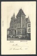 1.1 // CPA - FOSSES - Hôtel De Ville - Carte Animée - Cachet Relais De ANHEE  // - Fosses-la-Ville