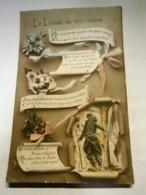 Guerre 14-18,militaire, Patriotisme,le Langage Des Trois Couleurs,écrite Environ 1916,TBE,colorisée - Patrióticos