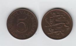 ESTONIE 5 Senti 1931 EESTI - Estonia