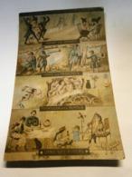 Guerre 14-18,militaire, Patriotisme,le Passé Le Présent Le Futur L'avenir,écrite Environ 1916,TBE,colorisée - Patrióticos