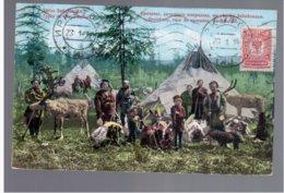 Types De Trans-Baikal- Orotcheny, Race De Nomades Nord- Baikal OLD POSTCARD (8a) - Russia