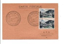 OBLITERATION INAUGURATION CHAPELLE NOTRE DU HAUT RONCHAMP 1955 - Commemorative Postmarks