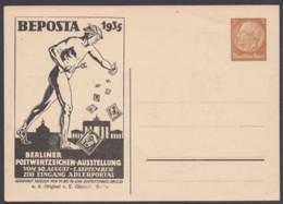 """PP 122 C 12/03 """"BEPOSTA"""", 1935, Schwarz, Ungebraucht - Deutschland"""