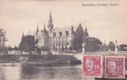 CPA Suède - Sverige - Stockholm - Nordiska Muséet - 1920 - Suède