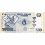 TWN - CONGO DEM. REP. 96B - 500 Francs 4.1.2002 PE-S (OFZ) UNC - Congo