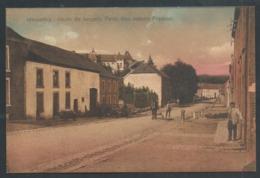 1.1 // CPA - MESSANCY - Route De Longwy - Pens. Des Soeurs Francisc. - Couleur  // - Messancy