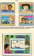 YEAR INTERN. OF CHILD - CIAD - Mi. Nr. 856/859+BF76 - NH - (6532-37.) - Ciad (1960-...)