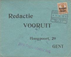 Kortrijk Vers Gent / Verso Grand Sceau De Gent - WW I