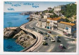 MARSEILLE, Promenade De La Corniche Vers Le Petit Nice, 1978 Used Postcard [23611] - Marseilles