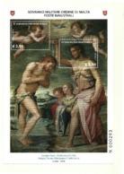 2018 - Sovrano Militare Ordine Di Malta BF 147 Quadro Di Giorgio Vasari - Paintings