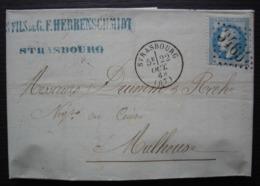 Strasbourg 1868 Les Fils De G.F. Herrenschmidt, Cuirs Et Corroierie - 1849-1876: Klassieke Periode
