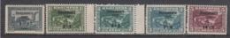 Bulgaria 1939 - Emis Au Profit Des Vicimes Des Inondations De Sevlievo, YT 340/44, MNH** - 1909-45 Kingdom