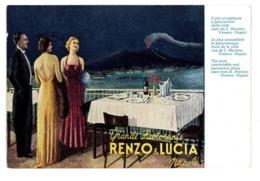 CPSM ITALIE NAPOLI NAPLES GRANDE RISTORANTE RENZO & LUCIA - Napoli