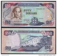 Jamaica P 83 E - 50 Dollars 15.1.2010 - UNC - Giamaica