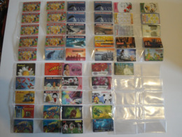 51 Phonecards From Singapore - All Different - Singapour